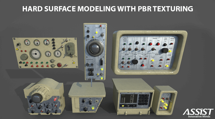 Hard Surface Modeling with PBR texturing - Tutorial | ASSIST
