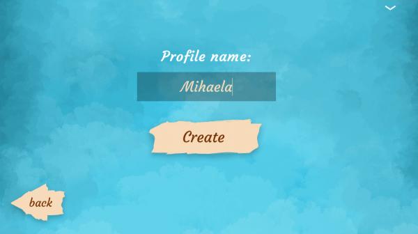 ASSIST Software - Autisma project - registration screen