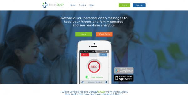 HealthSnap Web App