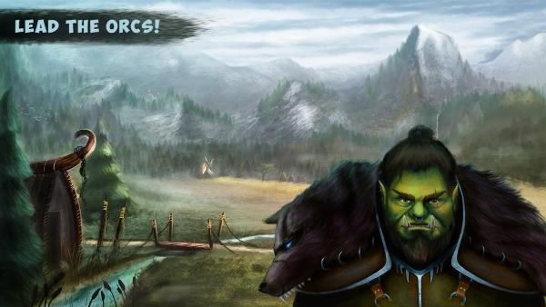 Hooman invaders - orc character