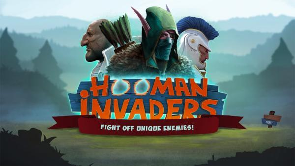 Hooman invaders - cover image