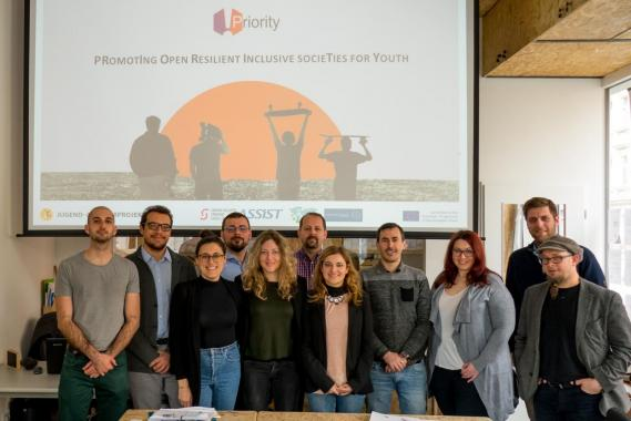 PRIORITY Erasmus+ Project - Group picture