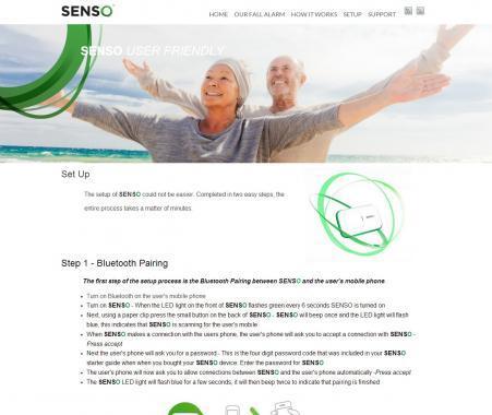 Senso dashboard