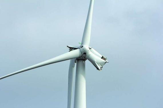 BladeSave Horizon 2020 Project - Wind turbine accident