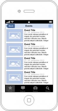 Events Dashboard