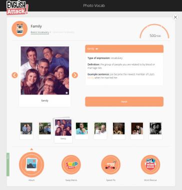 Photo Vocab Screenshot