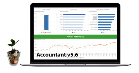 Accountant v5.6 financial data management application - promo image