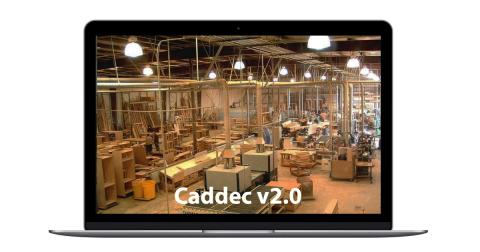 Caddec v2.0 CAD-CAM application - promo image