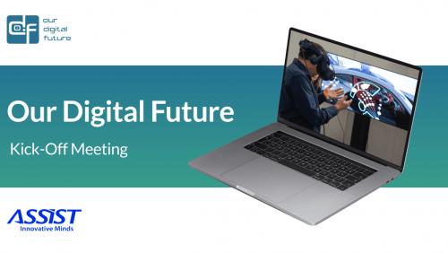 ASSIST Software Erasmus Our digital Future meeting