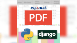 How to export files in a django-python application using reportlab