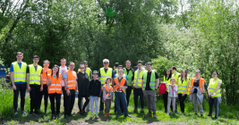 ASSIST Software team at a greening