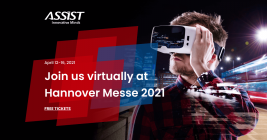 ASSIST Software at Hannover Messe 2021 - Get free Tickets - promoted image