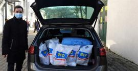 ASSIST Software donated food, clothing, household goods and hygiene products to less fortunate families
