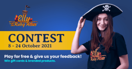 Elly and the Ruby Atlas Contest 8  - 24 Oct