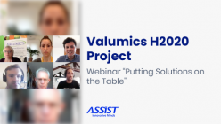 VALUMICS H2020 Project Webinar on sustainable food consumption - promo image