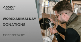 ASSIST Software donates to animal rescue shelter
