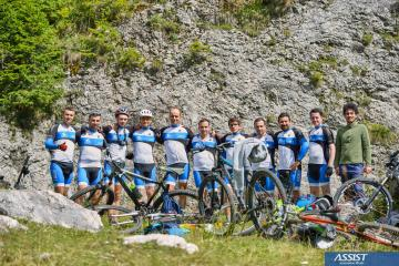 ASSIST Biking Club event in the Rarau mountains - promoted picture