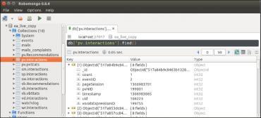 Robomongo database management