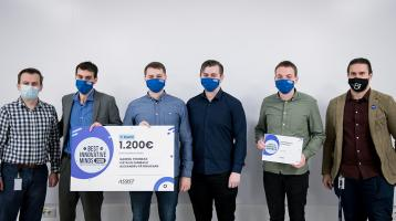 ASSIST Software - Best Innovative Minds 2020 - winning team