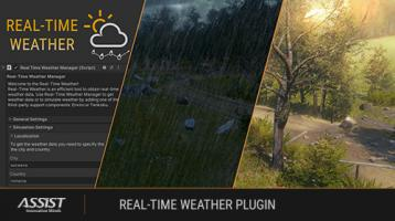 Real-Time Weather Plugin for Unity - ASSIST Software (promo)